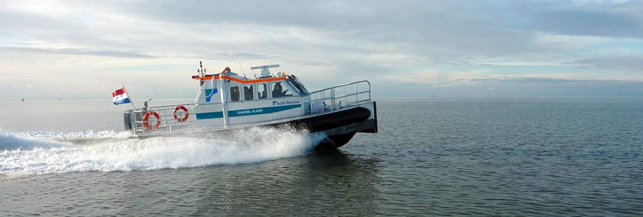 Crew Tender 6 Passengers Speed 25 Knots Coastal Flash